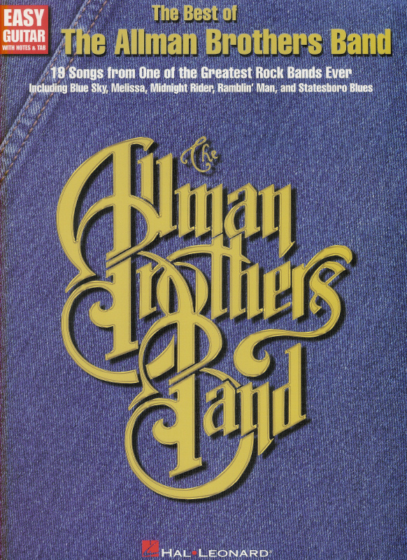 Best of The Allman Brothers Band, The - Easy Guitar